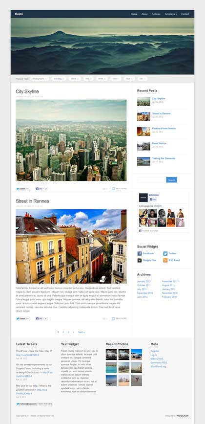 meeta worpress theme