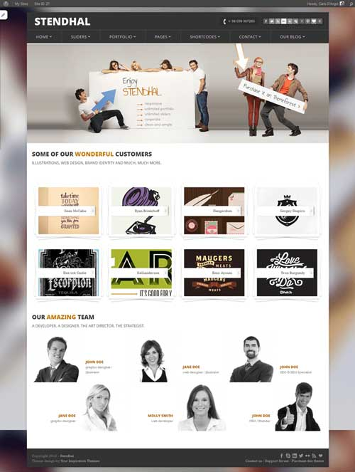 130+ Free WordPress Portfolio themes 2015