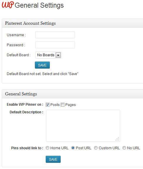 WP Pinner free wordpress plugin