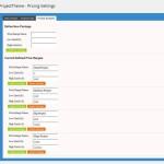 Wordpress theme Project budgets