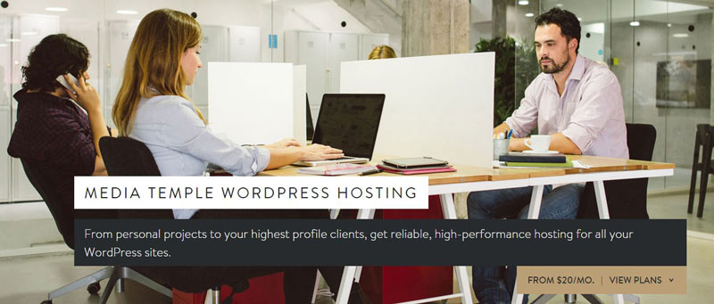 MediaTemple Premium Managed WordPress hosting plans 2015
