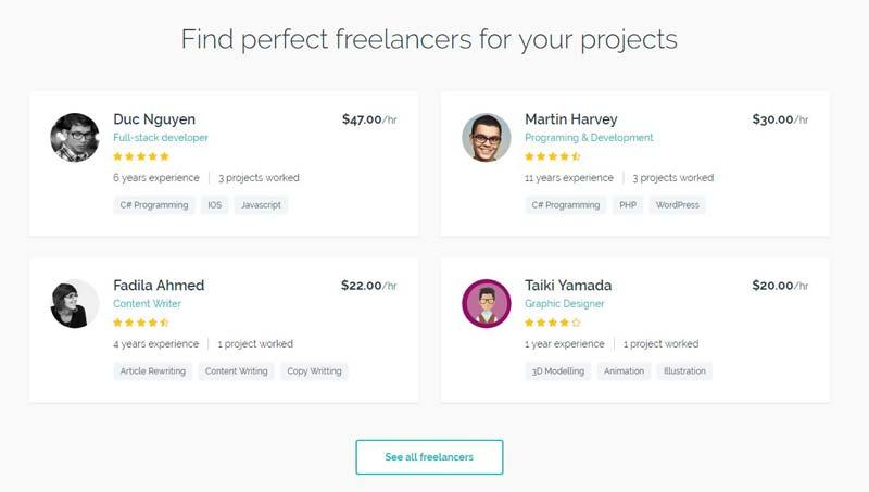 Freelance Engine freelancers